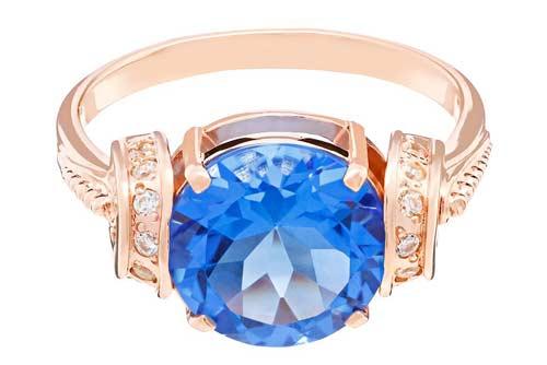 Голубой кварц редкий магический камень