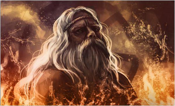 Бог огня - Сварог