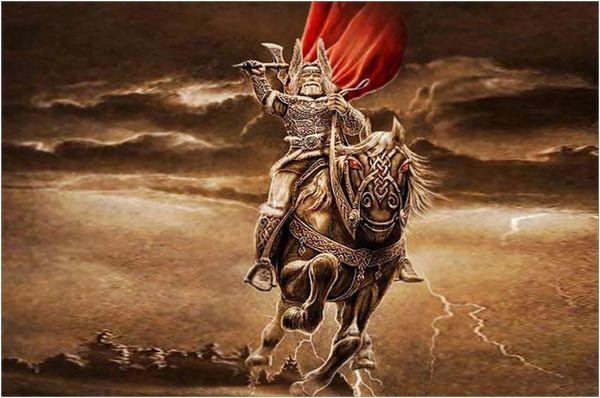 Бог грома и молнии - Перун
