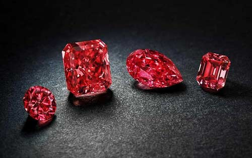 Камни красного цвета разновидности и свойства