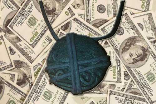 Ордынский амулет талисман для привлечения денег
