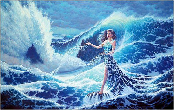 Бог воды - Дана