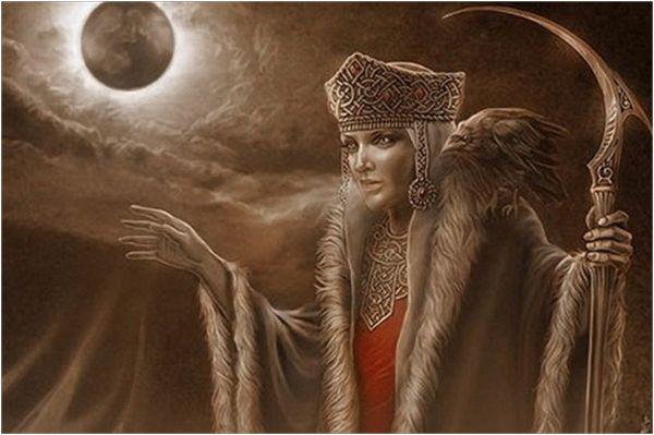 Богиня зимы - Мара
