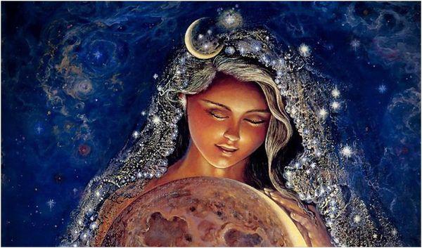 Богиня луны - Дивия