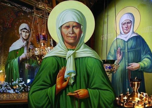 Молитвы Матроне Московской