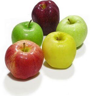 яблоки разных цветов