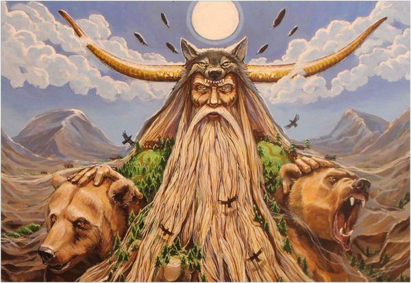 Бог торговли - Велес