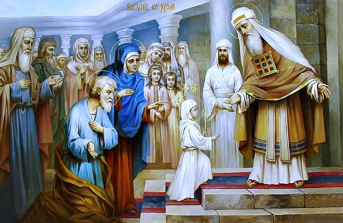 Введение во Храм Пресвятой Богородицы. История праздника