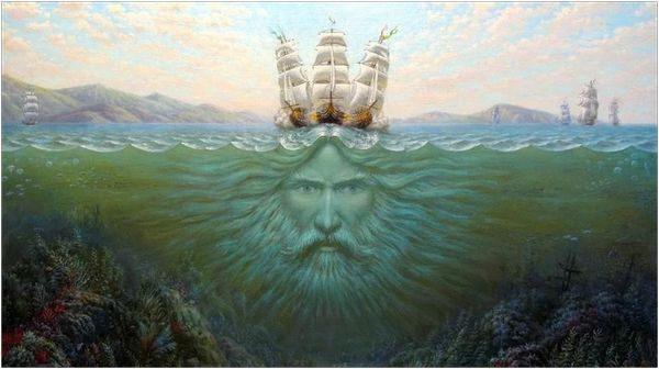 Бог морей - Переплут